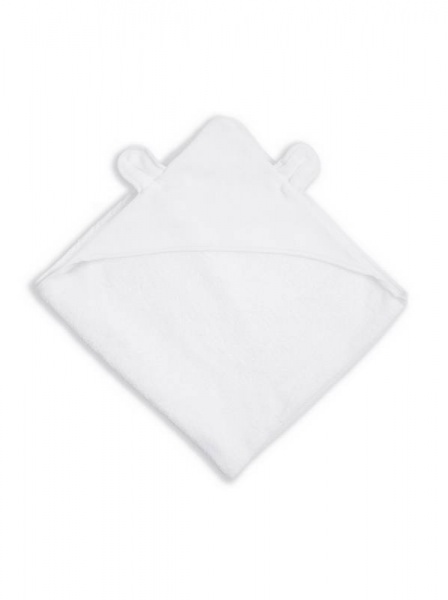 Katie Loxton  Bear Hooded  Towel in soft White