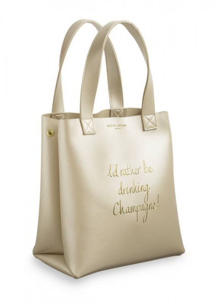 Katie Loxton gold luxury lunch bag