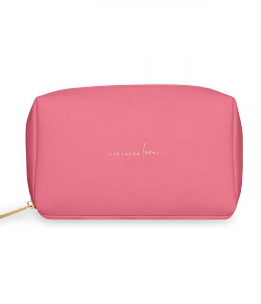 Katie Loxton Make up bag live laugh love