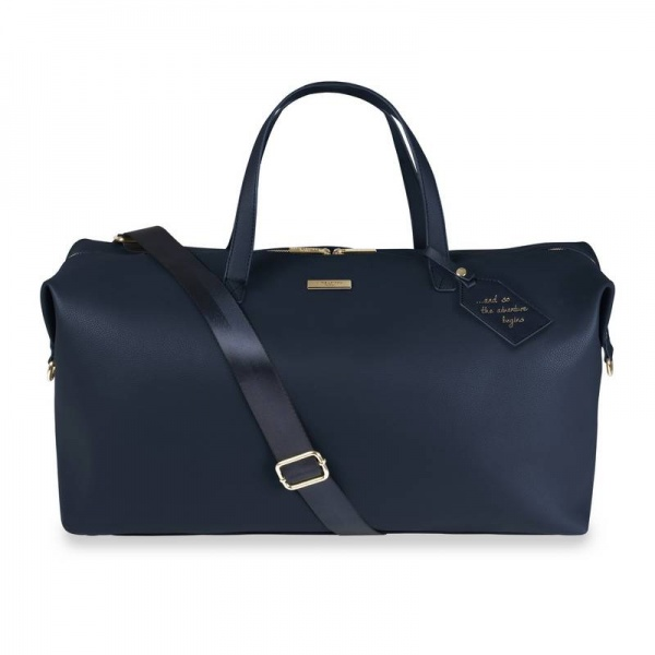 Katie Loxton weekend holdall bag navy