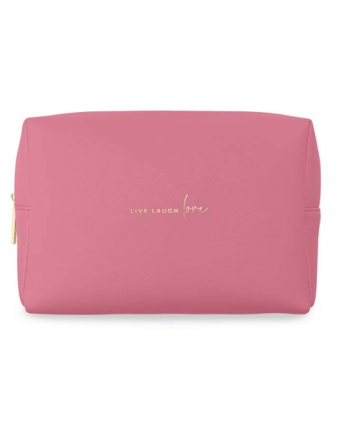 Katie Loxton Wash Bag live laugh love