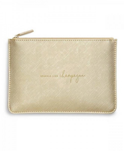 Katie Loxton Perfect Pouch Sparkle like Champagne