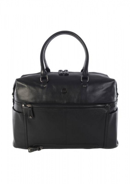 Kerikit Thea Leather Changing bag in  Black