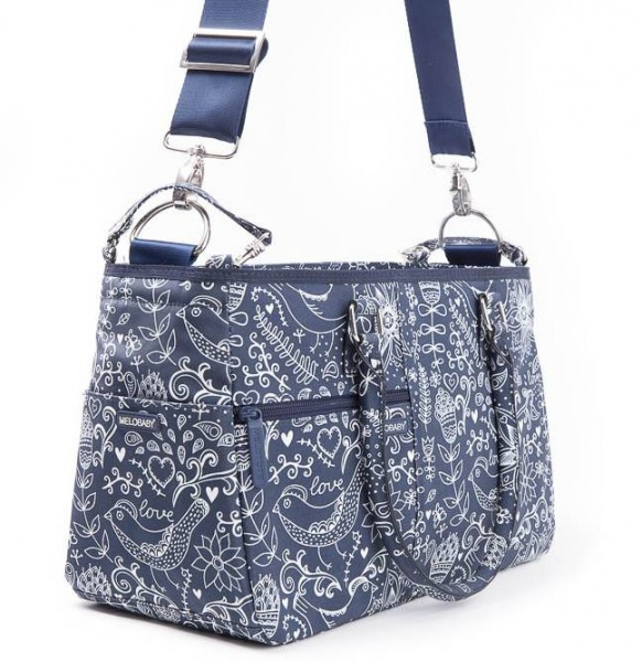 Melotote Love Deep Blue Changing bag