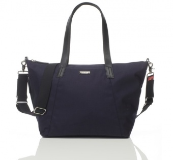 Storksak Noa Luxe Midnight Blue Changing Bag