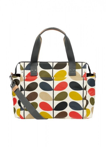 Orla Kiely Sixties  Multi stem  Messenger changing bag