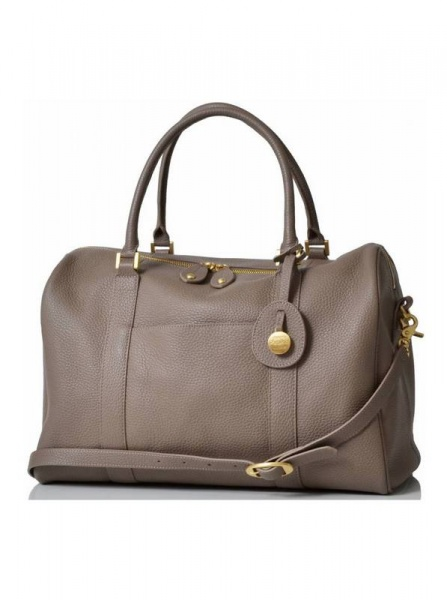 PacaPod Firenze Latte Leather Changing Bag