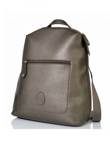 PacaPod Hartland  Changing Bag Backpack in Gunmetal