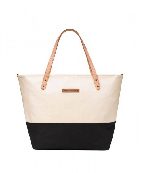 Petunia Pickle Bottom Downtown Tote in Black