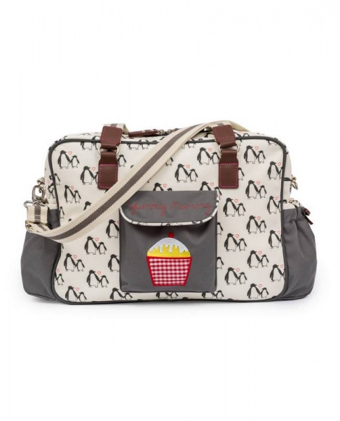 Pink Lining Yummy Mummy Penguin Changing bag