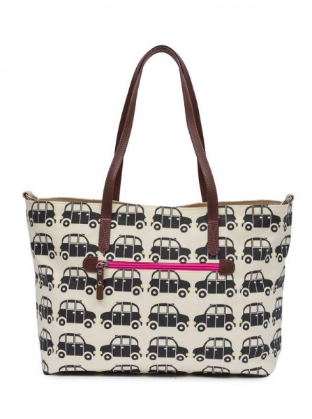 Pink Lining Notting Hill Tote Black Cabs