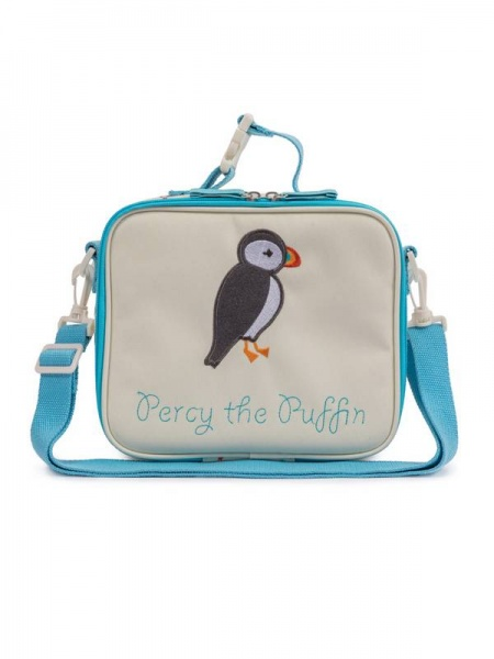 Pink Lining Child Lunchbox Percy the Puffin
