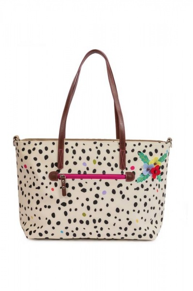 Pink Lining Notting Hill Tote Dalmatian Fever Changing bag