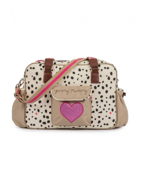 Pink Lining Dalmatian Fever Yummy Mummy Changing bag
