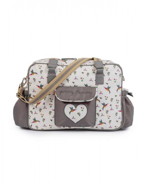 Pink Lining Hummingbird Yummy Mummy Changing bag