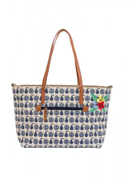 Pink Lining Notting Hill Tote Apples and Pears