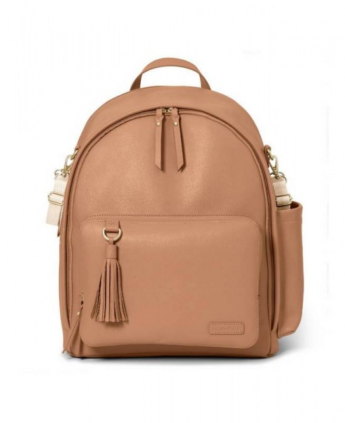 Skip Hop Greenwich Backpack in Caramel