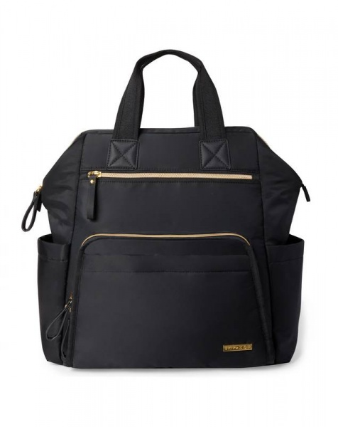 Skip Hop Mainframe wide Black backpack