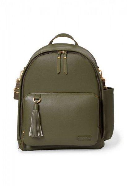 Skip Hop Greenwich Backpack in Olive