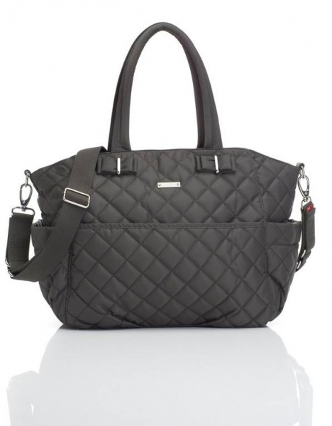 Storksak Bobby Changing Bag in Charcoal