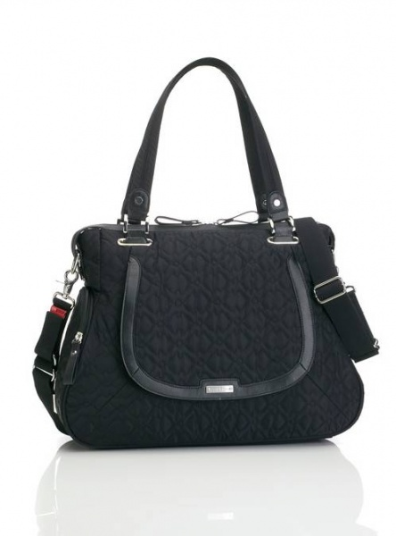 Storksak Anna in Black Changing Bag