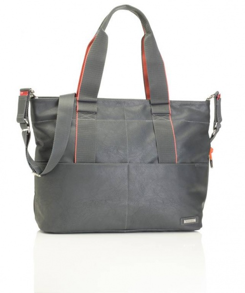 Storksak Eden Grey Baby Changing Bag