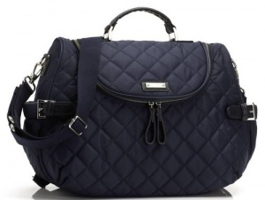 Storksak Poppy Navy Nylon Changing Bag