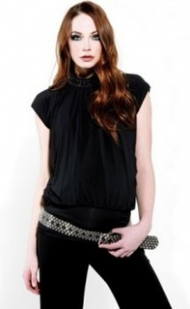 Attesa Sequinned Top