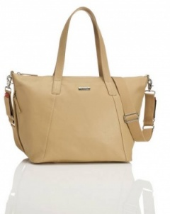 Storksak Noa in Light tan  Leather