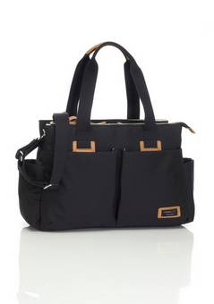 Storksak Travel Shoulder bag in Black