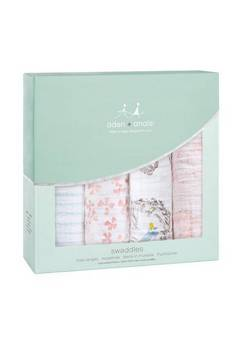 Aden + Anais Four Pack Birdsong Swaddles