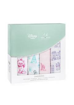 Aden + Anais Disney Aristocats 4 pack  swaddles