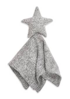 Aden + Anais  snuggle knit lovey heather grey
