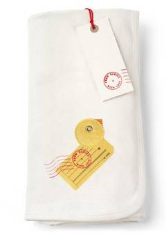 From Babies with Love Duck  swaddling Blanket