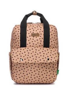 Babymel Georgi Eco Backpack changing bag Leopard