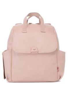 Babymel Robyn Blush Faux Leather Backpack changing bag