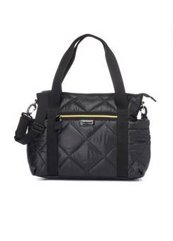 Babymel Cara light Black Quilt Changing bag