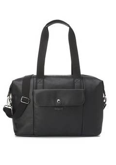 Babymel Stef Vegan Leather hospital bag Black