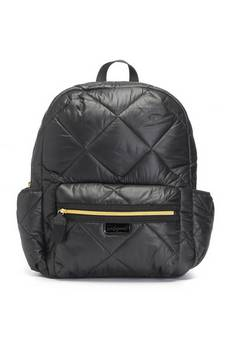 Babymel Luna Black Quilt  Changing bag
