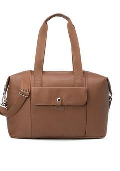 Babymel Stef Vegan Leather hospital bag Tan