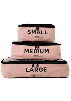 Bag All Packing Cubes Pink