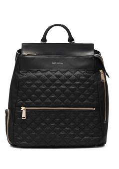Fact and Fiction Charli quilted Black