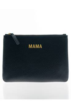 Jem + Bea Mama Clutch in Black