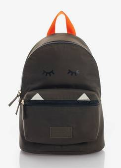 Jem + Bea Kids Eco Backpack Khaki