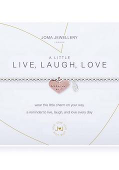 Joma Jewellery A Little Live Laugh Love Bracelet