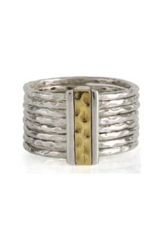 Charlotte's Web Karma Fortune stacking ring