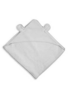 Katie Loxton  Bear Hooded  Towel in soft Grey