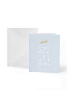 Katie Loxton Congratulations Gold badge card