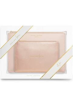 Katie Loxton Perfect Pouch Love Love Love gift set