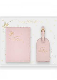 Katie Loxton Baby Travel Set  Pink